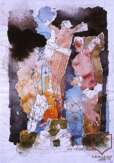 Karátson Gábor: Ma velem lészesz, 1994 Art, Painting