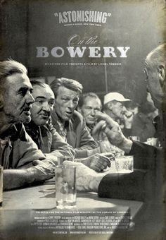 "Movie Poster of the Week: ""On the Bowery"" on Notebook 