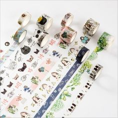 10 Styles Cartoon Cats Flower Plants Cartoon Girl Decoration Washi Tape DIY Diary Planner Scrapbook StickerLabel Masking Tape #>=#>=#>=#>=#> Click on the pin to check out discount price, color, size, shipping, etc. Save and like it!