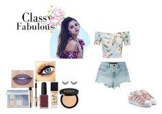 fashion styling project by ioannaelli on Polyvore featuring Miss Selfridge, T By Alexander Wang, adidas Originals, Jeffree Star, Gucci, NARS Cosmetics, L'Oréal Paris and Kester Black