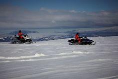 Golden Circle, Super Truck & Snowmobiling Tour on Langjökull glacier #arcticadventures #snowmobile #iceland
