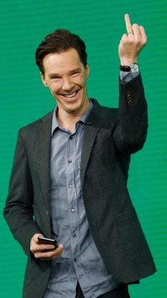 """""""@Cumberbuddy: There's a lyric that goes """"This goes out to all my haters.""""  xxxx """"THIS!"""