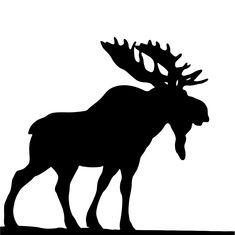 Free Image on Pixabay - Moose, Black, Silhouette, Wild Hirsch Silhouette, Moose Silhouette, Animal Silhouette, Black Silhouette, Wood Burning Crafts, Wood Burning Patterns, Bull Moose, Moose Art, Moose Animal
