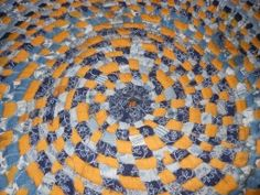 Superb How To Make A Coiled   No Sew Clothesline Rag Rug