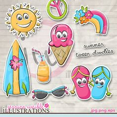 Cute Digital Clipart