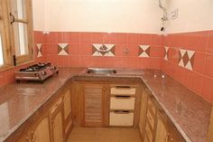Kitchen attached with rooms also available in marigold shimla hotel.