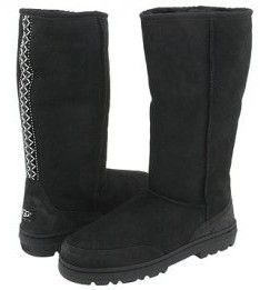 UGG 5245 Ultra Tall Boots Black use the high-quality twin-faced sheepskin as its material which can draw moisture away to keep your feet warm and dry. The plastic outsole and the exchangeable sole are fantastic for both comfort and function. The UGG Tasman District Registrar on the back of the traditional sewing special shoes to add something at the top of the shoe. Over the back with the shoe decorate with wave-shaped beating for really the design and style. This shoe can be varied must be…