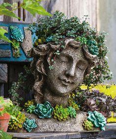 Look what I found on #zulily! Succulent Garden Beautiful Maiden Planter #zulilyfinds