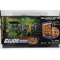 GI Joe DVD Battle Pack Set 3 of 5 (2008)