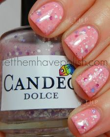 Let them have Polish!: Etsy Mania!! Candeo Colors Orchid and Dolce