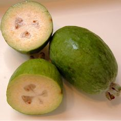 Pineapple Guava, another great variety to grow!