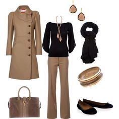 Classy. Professional.  love that coat!