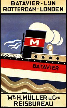 Fransisca Clausen Batavier-Lun-Rotterdam-London