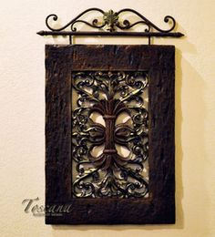 French Country Wall Decor Iron Wall Decor and Furniture for French Country Homes is our specialty. Find French Country wall decor, wall art and wrought iron wall decor to decorate in a French Country style. Tuscan Wall Decor, French Country Wall Decor, French Country Decorating, Wrought Iron Decor, Iron Wall Decor, Wall Art Decor, Wall Decorations, Room Decor, Tuscan Furniture