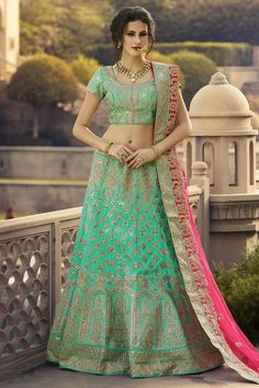 #StyleOfTheDay Buy This Light Green Raw Silk Heavy Embroidery Work Designer Bridal Lehenga Choli. Buy Now:- http://www.lalgulal.com/lehenga-choli/light-green-raw-silk-heavy-embroidery-work-designer-bridal-lehenga-choli-702 #CashOnDelivery & #FreeShipping only in India. For Other Query Just Whatsapp Us on +91-9512150402 Or Mail Us at info@lalgulal.com. #lehenga #occasions #wedding #weddingspecial #buy #products #Anarkalisuit #online #lalgulal #classic #embroidery #summercolours #spring