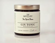 Gin Tonic Bath Salts..because you likely smell like alcohol anyways. $14 bucks! @coolmaterial