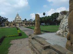 Www.tamiltour.com Kanchipuram kailasanathar temple