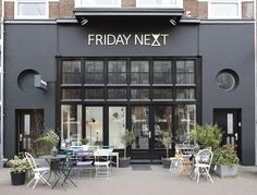 Friday next new entrance! #fridaynext #cafe #conceptstore #lunch