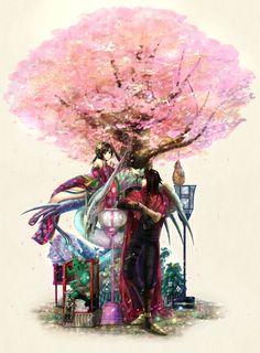 Daughter of Wutai - Final Fantasy VII - Vincent Valentine / Yuffie Kisaragi