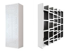 Reinier de Jong and his team bring us this spectacular bookcase that can expand according to it's contents.