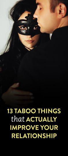 13 Taboo Things That