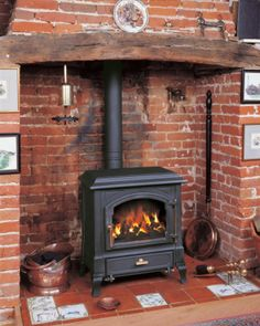 Euroheat has closed Log Burner, Fireplace Inserts, Wood Burning, Hearth, Home Appliances, Classic, House, Fireplaces, Wa State