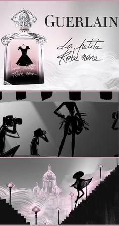 """Guerlain vient de sortir son dernier parfum « la petite robe noire ». Tout comme cette dernière, il en a l'élégance intemporelle avec ce petit """"je ne sais quoi"""" qui le place à la pointe de la tendance en même temps."""