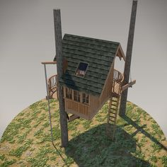 DIY Treehouse Plan No. 14: Steilacoom designed by Pete Nelson – Be in a Tree