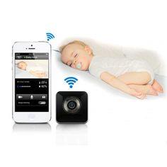 Une caméra wifi pour surveiller votre bébé dans sa chambre pendant que vous êtes tranquillement installés dans le canapé. Camera Surveillance, Electronics, Phone, Telephone, Mobile Phones, Consumer Electronics