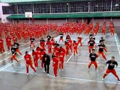 Due to insistent public demand, the world renowned dancing inmates of Cebu finally had their own version of Psy's Gangnam Style music video. Psy Gangnam Style, Prison Inmates, Dance Routines, Pop Songs, Cebu, Children Images, Dancing In The Rain, Inevitable, Weekend Is Over