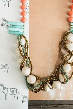 The @31bits Gift of the Day :: The Terrazo necklace! {$10 off + FREE shipping today only 12/18} #31bits #fashionforgood