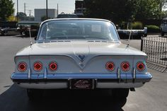 1961 Chevrolet Impala Classic Car Inspection in St Charles, Mo 010