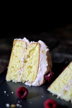 Buttermilk Cake with Raspberry Buttercream