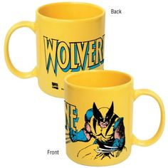 Marvel Comics Wolverine Yellow Ceramic Coffee Mug ICUP http://smile.amazon.com/dp/B005WJDKWE/ref=cm_sw_r_pi_dp_loMHub03SKRDF