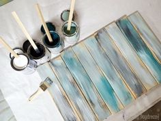 Make brand new wood look like legit old distressed barn boards with these 3 simple steps! {Reality Daydream}