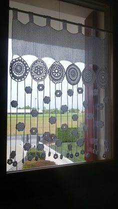 The post . appeared first on Gardinen ideen. The post .gardine appeared first on Gardinen ideen. Crochet Curtain Pattern, Crochet Curtains, Curtain Patterns, Curtain Ideas, Valance Curtains, Filet Crochet, Crochet Motif, Crochet Doilies, Crochet Flowers