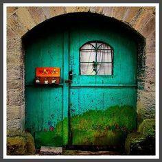 Beautiful Painted Door