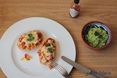 glutenfreie Ofenbrötchen mexikanische Art - das Rezept findet ihr auf meinem Blog. #glutenfrei #laktosefrei #vegetarisch