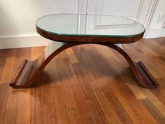 Art Deco side table - Catawiki Art Deco Coffee Table, Art Deco Furniture, Walnut Veneer, Tables, Vase, The Originals, Wood, Home Decor, Mesas