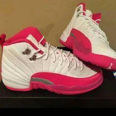 Jordan 12s Pink And White Jordan Shoes Sneakers