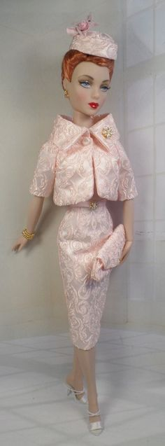 I Believe in Pink for Gene Marshall and her friends 16 inch fashion dolls OOAK Fashion