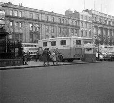 X-Ray Van, O'Connell Street, 1960s