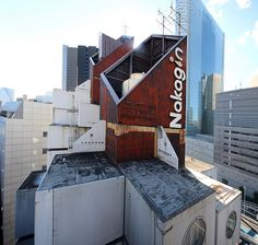 Nakagin Capsule tower, Tokyo Kisho Kurokawa, 1972