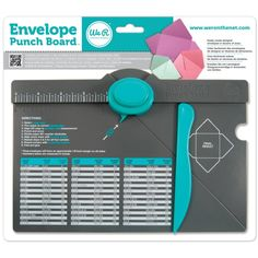 """Tutorial """"How to use the envelope Punch Board"""" by Darlene DeVries at DarleneDesign.com"""
