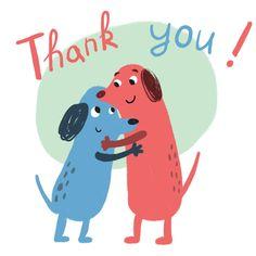 Thankful hug - Thank You Card #greetingcards #printable #diy #thankyou #notes #thanks Thank You Notes, Thank You Cards, Thank You Card Template, Seville, Printable Cards, Scooby Doo, Hug, Thinking Of You, Create Yourself