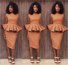 Skirt and Blouse Ankara Styles http://www.dezangozone.com/2016/07/skirt-and-blouse-ankara-styles.html