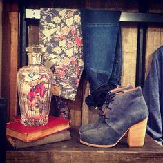 Real Vintage Denim + Shoes! #AW2014