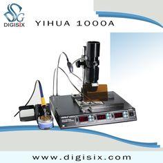 (310.50$)  Watch here  - YIHUA 1000A BGA Rework Station, Laptop Motherboard Repairing, BGA Machine, Reballing Kit, Welding, IR Station 110V/220V EU/US