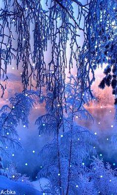 Картинки зима красивые 240 400
