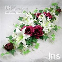 Wholesale 28 Artificila Silk Flower Wedding Table DecorationBr1, $12.44/Piece | DHgate